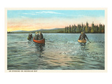 An Evening on Georgian Bay, Canada Posters