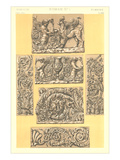 Roman Bas Relief Borders Prints