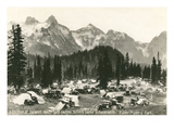 Paradise Camp, Rainier National Park Prints