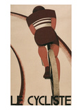 French Cycling Poster, Le Cycliste Reprodukcje