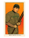 Early Baseball Card, Akin Posters
