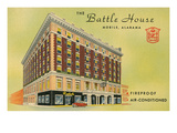 Battle House Hotel, Mobile, Alabama Poster
