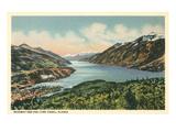 Skagway, Lynn Canal, Alaska Prints