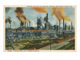 Steel Works, Pueblo, Colorado Prints