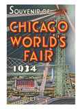 Souvenir of Chicago World's Fair, 1934 Prints