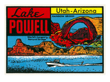 Decal for Lake Powell Prints
