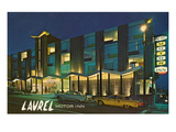 Laurel Motor Inn at Night Prints
