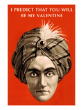 Valentine Prediction, Swami Head Posters