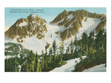 Cascade Mountains, Washington State Print