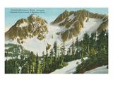 Cascade Mountains, Washington State Poster
