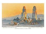 Memmon's Columns, Thebes, Egypt Prints