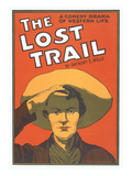 Playbill for the Lost Trail Poster