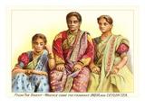 Indian Women in Tea Ad Art Print