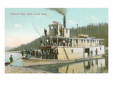 Newport Boat, Pend Oreille, Washington Prints