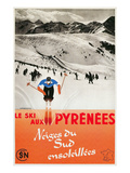 Ski the Pyrenees Prints