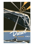 Diesel, the Modern Power Poster
