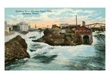 Upper Falls, Spokane River Prints
