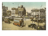 Piccadilly Circus, London Prints