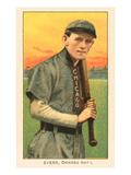 Early Baseball Card, Johnny Evers Print