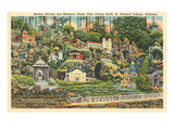 Shrines, St. Bernard College, Alabama Prints