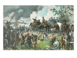 General Meade and Staff, Gettysburg Prints