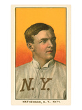 Early Baseball Card, Christy Mathewson Posters