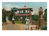 Piedmont Park, Oakland, California Kunstdrucke