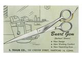Scissors Advertisement Posters