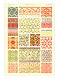 Persian Patterns Poster