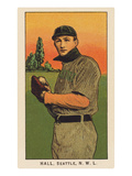 Early Baseball Card, Clyde Hall Prints