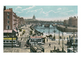 O'Connell Bridge, Dublin, Ireland Prints