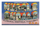 Greetings from Muscle Shoals, Alabama Prints
