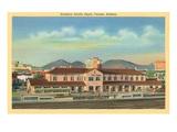 Southern Pacific Depot, Tucson, Arizona Prints