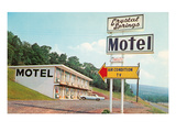 Crystal Springs Motel Art