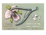 Nail Clippers Advertistement Prints