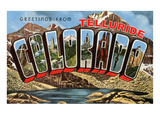 Greetings from Telluride, Colorado Posters