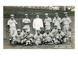 Custom Baseball Team Posters