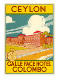 Galle Face Hotel, Colombo Prints