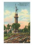 Vulcan Monument, Birmingham, Alabama Kunstdruck