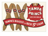 Tampa Prince Cigar Ad Art