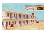 Ocean Glow Motel Posters
