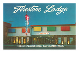 Firestone Lodge Motel Posters