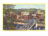 Bridge, Charleston, West Virginia Prints