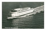 Streamlined Ferry, Kalakala Print