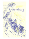 Illustration of Gettysburg Poster