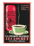 Fake French Coffee Advertisement Poster