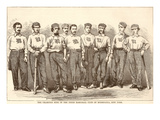 Very Early Baseball Team Prints
