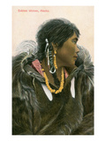 Eskimo Woman, Alaska Prints
