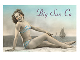 Bathing Beauty, Big Sur, California Posters