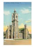 St. Mary's Cathedral, Burlington, Vermont Prints